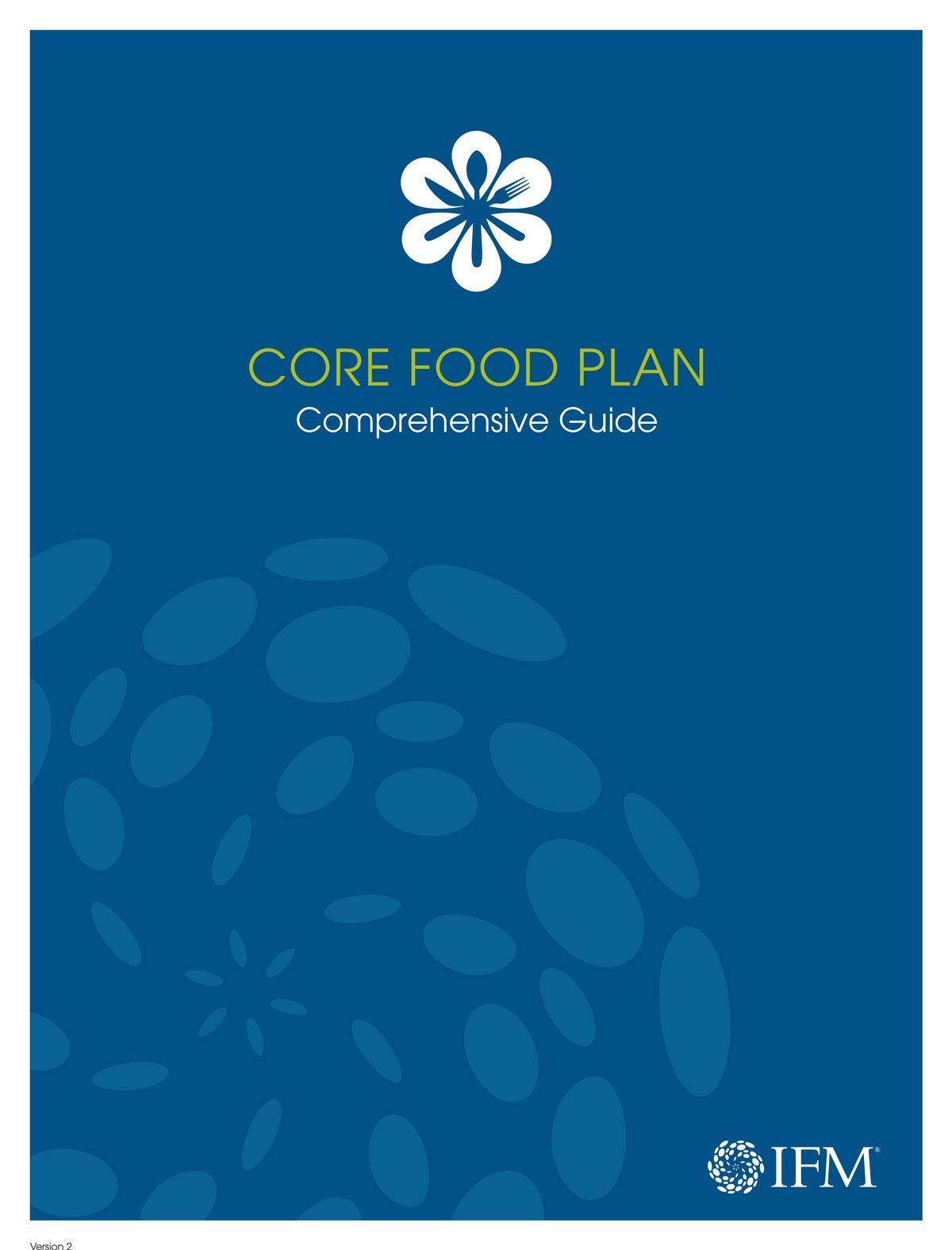 Core Food Plan Comprehensive Guide