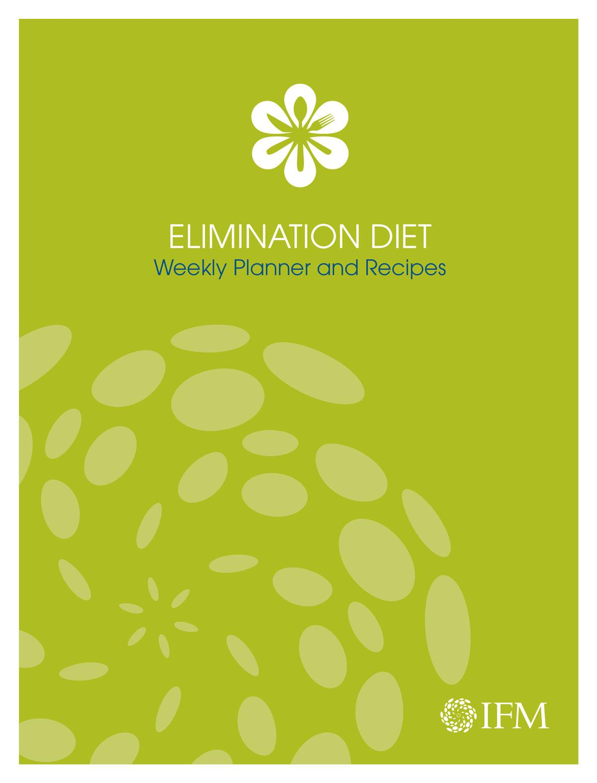 Elimination Diet Weekly Planner